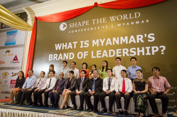 Shape the World Conference Myanmar 2013