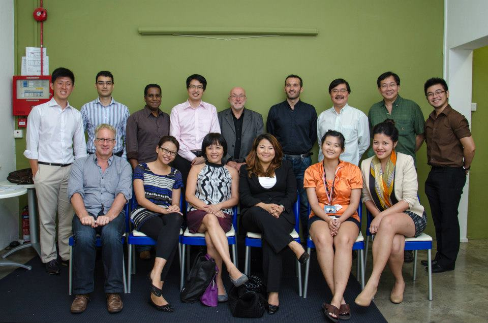 Shape the World Circle meeting in Singapore