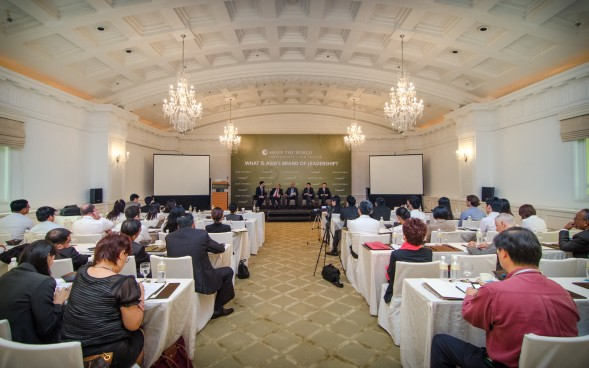 Over 70 Leaders from a wide range of industries convened at the Fullerton Hotel for this year's Shape the World Conference