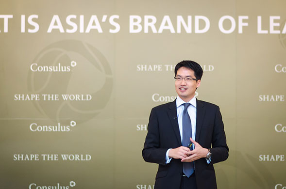 Mr. Lawrence Chong, CEO at Consulus, urged Asian companies to embrace innovation.
