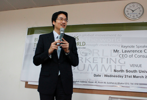 Lawrence Chong spoke on what it means to build Bangladeshi brands that will shape the world.